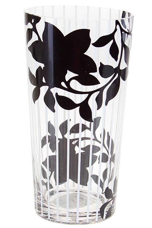 """Стеклянные вазы и кашпо Красный куб Ваза для цветов """"Цветочный дизайн"""""""