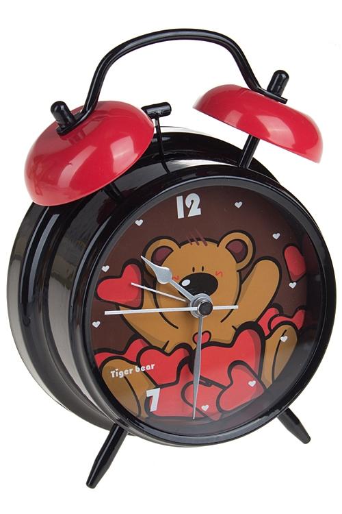 """Часы Настольные Красный куб Часы настольные """"В окружении сердец"""""""