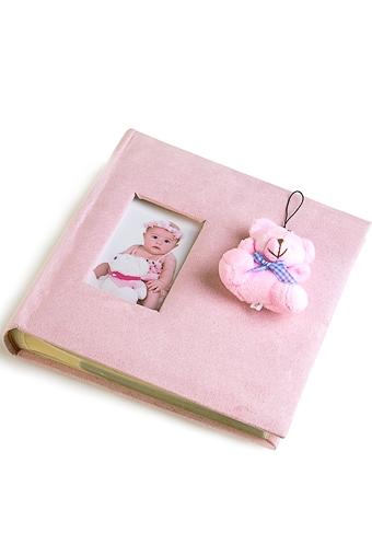 """Фотоальбомы для детей и новорожденных Красный куб Фотоальбом """"Плюшевый мишка"""""""