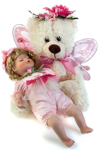 """Фарфоровые куклы Красный куб Набор игрушек """"Моя малышка"""""""