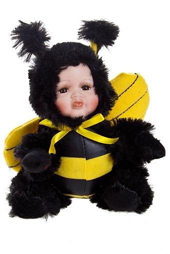 """Игрушки-куклы Красный куб Кукла мягконабивная """"Маленькая пчелка"""""""