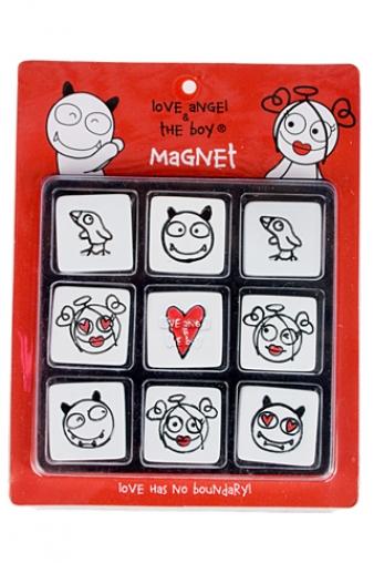 """Магниты Красный куб Набор держателей-магнитов """"Любовь без границ"""""""