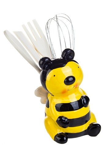 """Подставки для кухонных аксессуаров Красный куб Подставка для кухонных аксессуаров """"Пчелка"""""""
