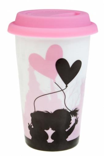 """Термокружки и стаканы для чая/кофе Красный куб Стакан для чая/кофе """"Первая любовь"""""""