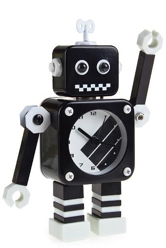 """Часы Настольные Красный куб Часы настольные """"Загадочный робот"""""""
