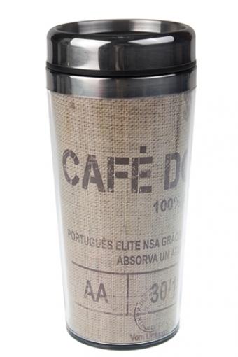 """Термокружки и стаканы для чая/кофе Красный куб Термокружка с крышкой """"Лучший кофе"""""""