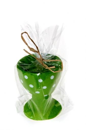 """Декоративные свечи Красный куб Свеча """"Подставка для яйца"""""""