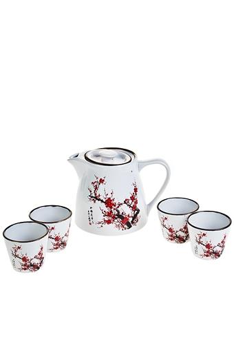 """Чайные наборы Красный куб Набор чайный """"Цветение сакуры"""""""