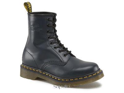 Ботинки Dr. Martens 11821410 1460W Navy Smooth Dr Martens синие