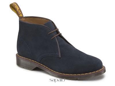 Ботинки Dr. Martens 13257411 SAWYER Dark Blue Hi Suede WP Dr Martens синие
