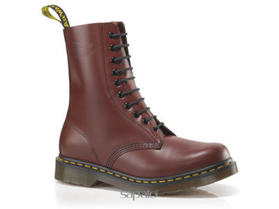 Ботинки Dr. Martens 11857600 Cherry Red Smooth 1490 Dr Martens бордовые