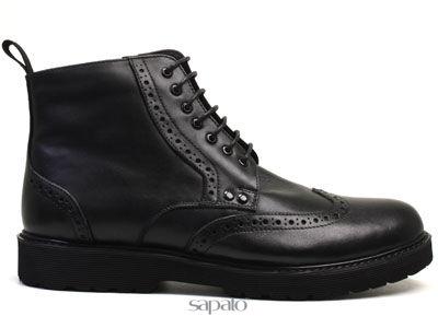 Ботинки AirBox HA13506-1 Black Ботинки муж AIRBOX чёрные