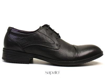 Туфли AirBox 20124-T25 Black Туфли муж AIR BOX чёрные