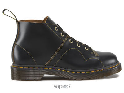Ботинки Dr. Martens 16054001 Church Black Vintage Smooth Dr Martens чёрные