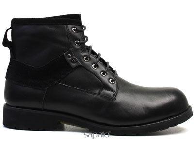 Ботинки AirBox M436-K597-101 Black Ботинки муж AIR BOX чёрные