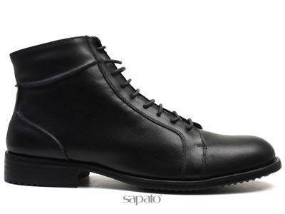 Ботинки AirBox M436-K102-2 Black Ботинки муж AIR BOX чёрные