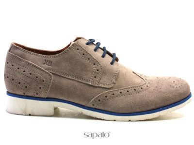Туфли Xti 26553 TAUPE Полуботинки муж XTi коричневые