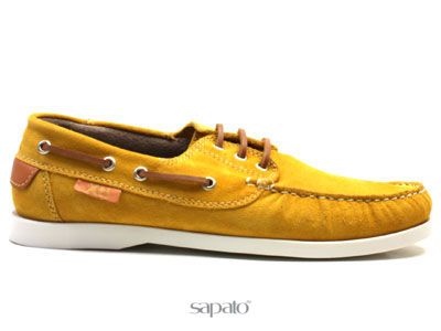 Ботинки Xti 26607 PANAMA Мокасины муж XTi жёлтые