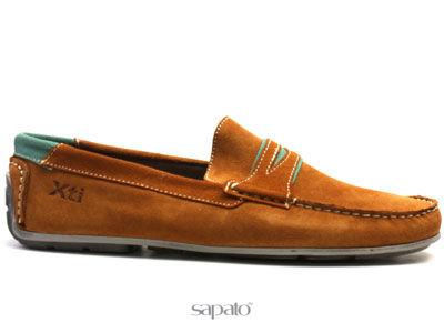 Ботинки Xti 26612 CAMEL Мокасины муж XTi коричневые