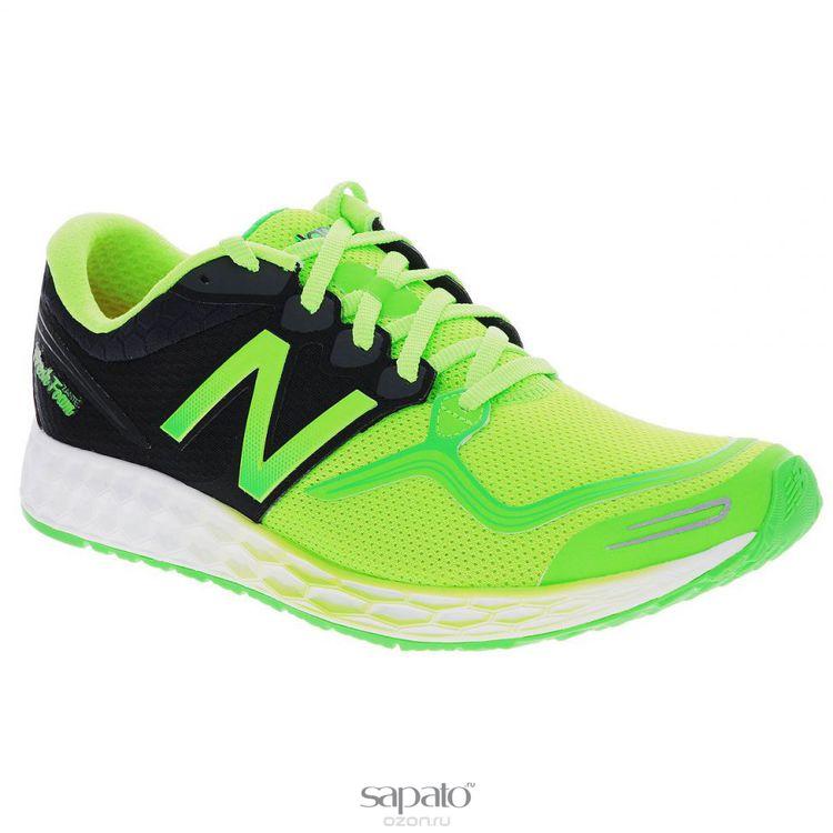 Кроссовки New Balance Кроссовки для бега мужские Fresh Foam Zante. M1980GB/D зеленые