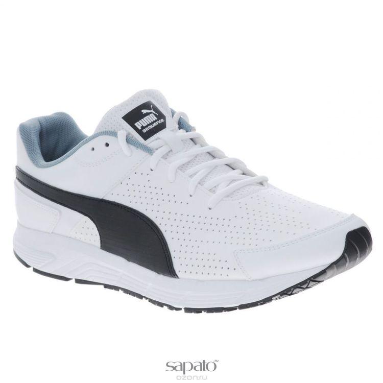 Кроссовки Puma Кроссовки мужские для бега Sequence SL белые