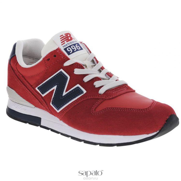 Кроссовки New Balance Кроссовки мужские. MRL996 красные