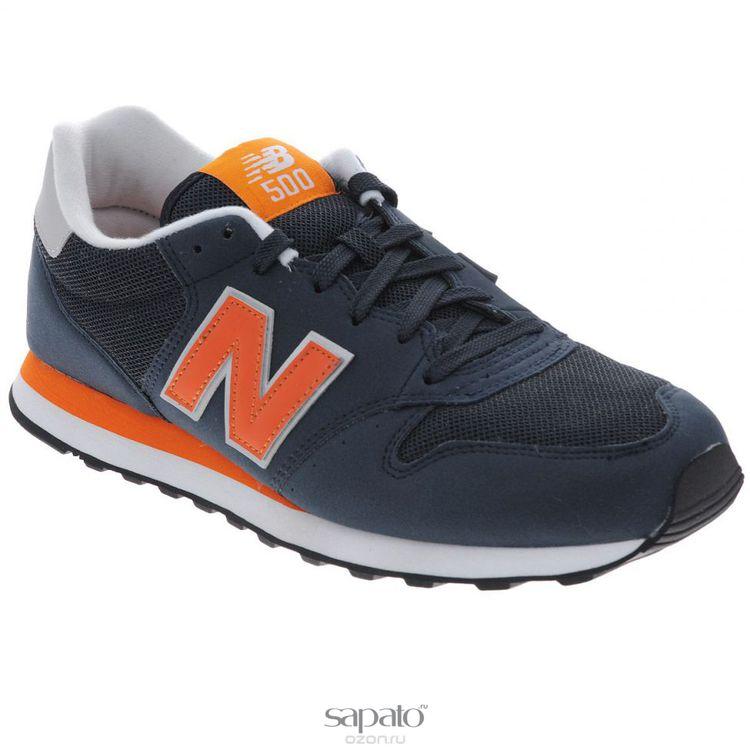 Кроссовки New Balance Кроссовки мужские. GM500MMN/D оранжевые