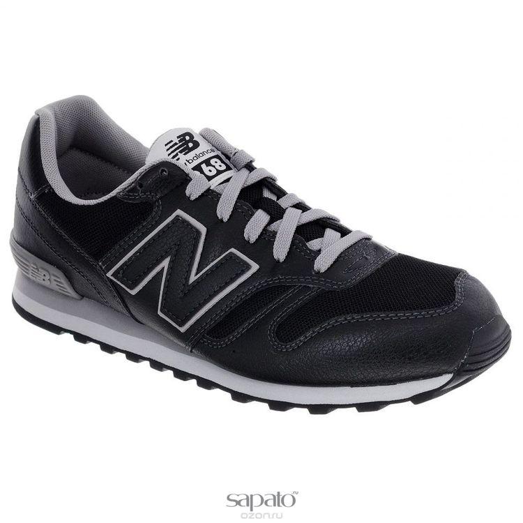 Кроссовки New Balance Кроссовки мужские. M368J чёрные