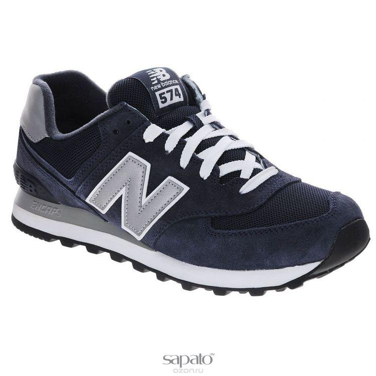 Кроссовки New Balance Кроссовки мужские. M574N синие