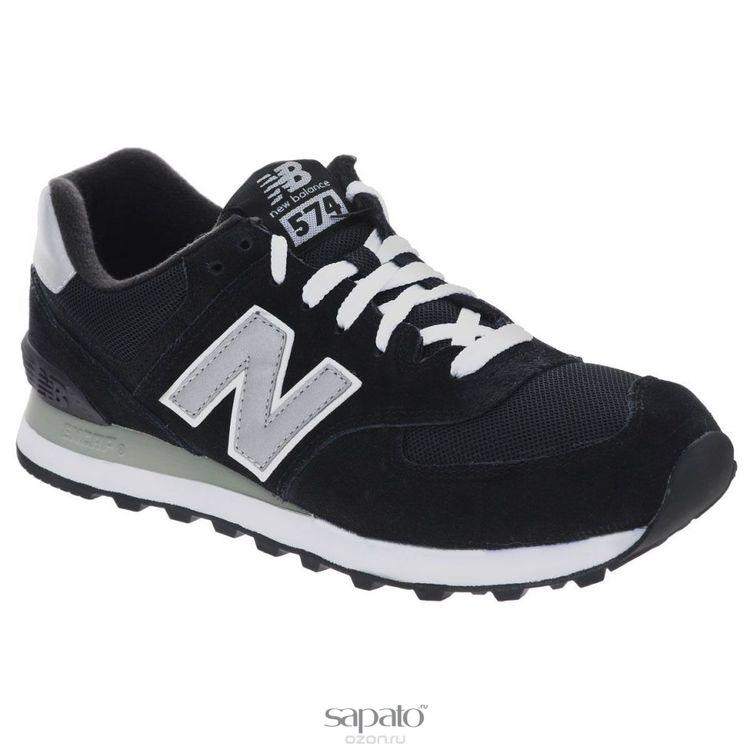 Кроссовки New Balance Кроссовки мужские. M574N чёрные
