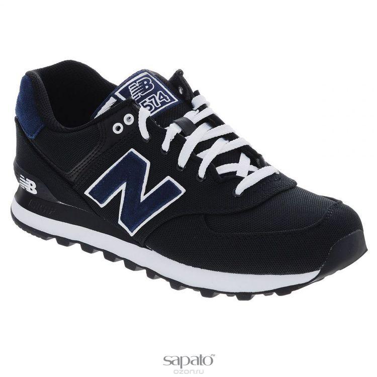 Кроссовки New Balance Кроссовки мужские. ML574PO чёрные