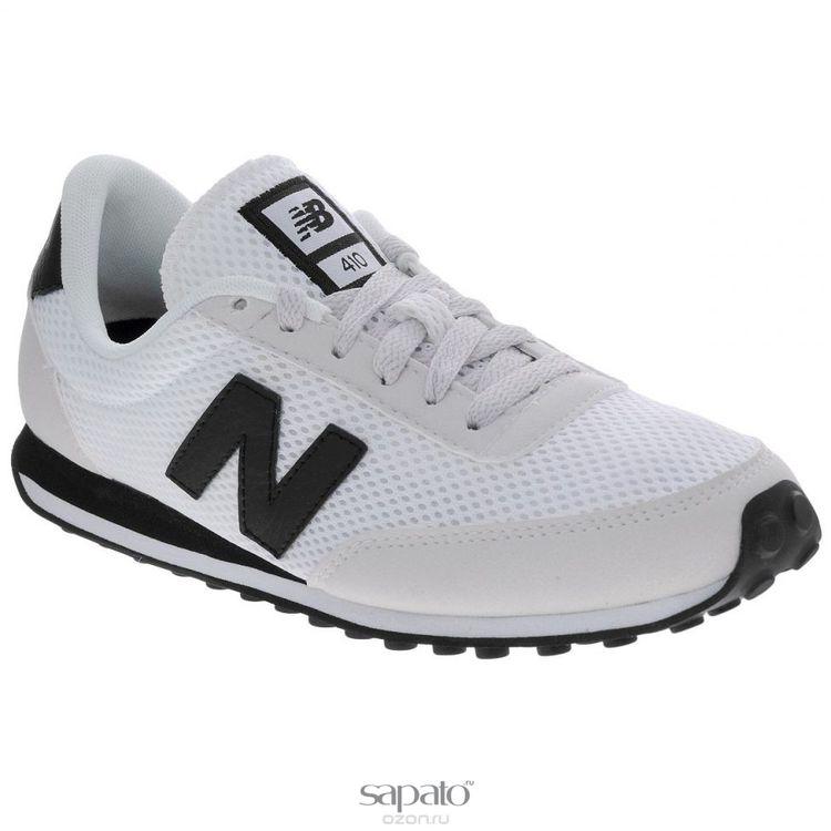 Кроссовки New Balance Кроссовки унисекс. U410MMWK/D белые