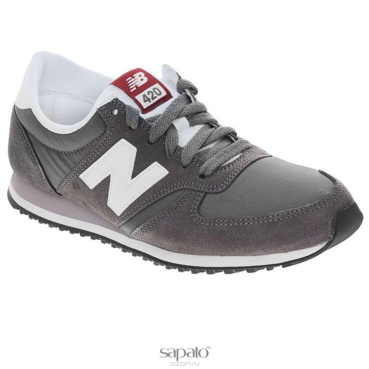 Кроссовки New Balance Кроссовки унисекс. U420C серые
