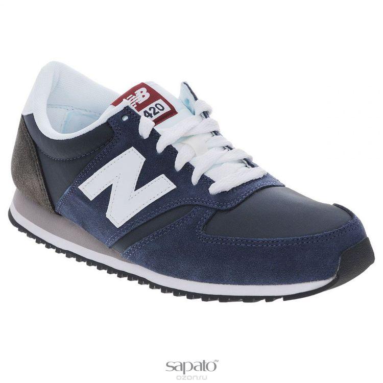 Кроссовки New Balance Кроссовки унисекс. U420C синие