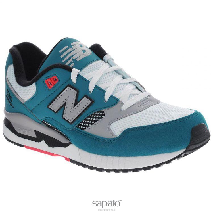 Кроссовки New Balance Кроссовки унисекс. M530 голубые