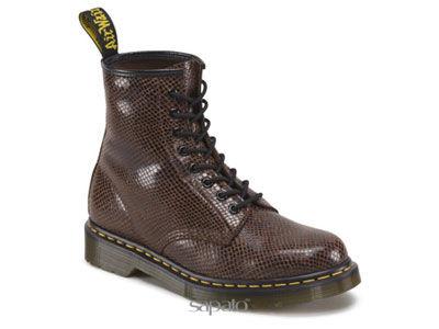 Ботинки Dr. Martens 10072214 Brown Wave 1460 Dr Martens коричневые