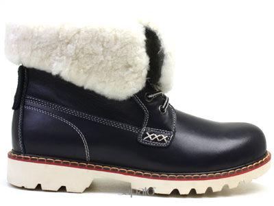 Ботинки AirBox TW130341HL NAVY Ботинки жен AIR BOX синие