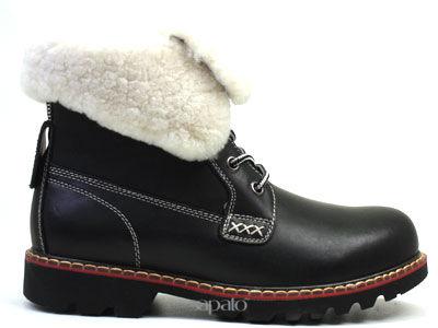 Ботинки AirBox TW130342HL BLACK Ботинки жен AIR BOX чёрные