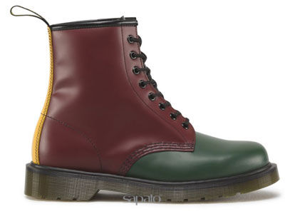 Ботинки Dr. Martens 16173310 Green+Cherry Red+Black+Yellow Smooth 1460 Dr Martens Мультиколор