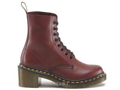 Ботинки Dr. Martens 14638600 3H92 Cherry Red Smooth Dr Martens бордовые