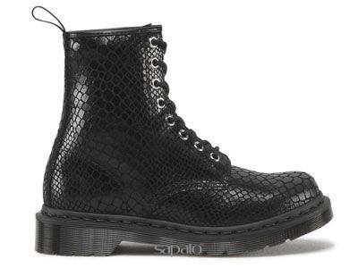 Ботинки Dr. Martens 13661003 Black Hi Shine Snake 1460 Dr Martens чёрные