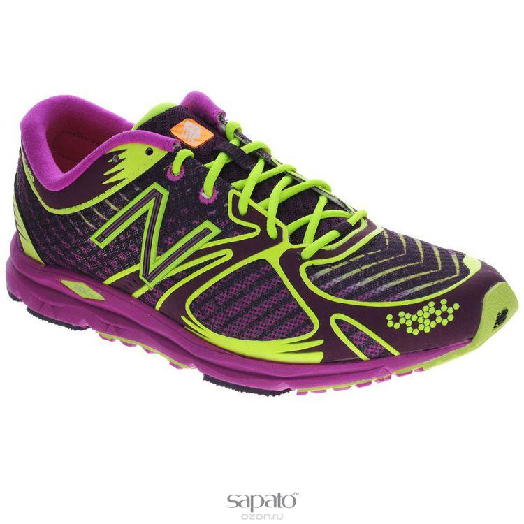 Кроссовки New Balance Кроссовки для бега женские. W1400GD/B зеленые