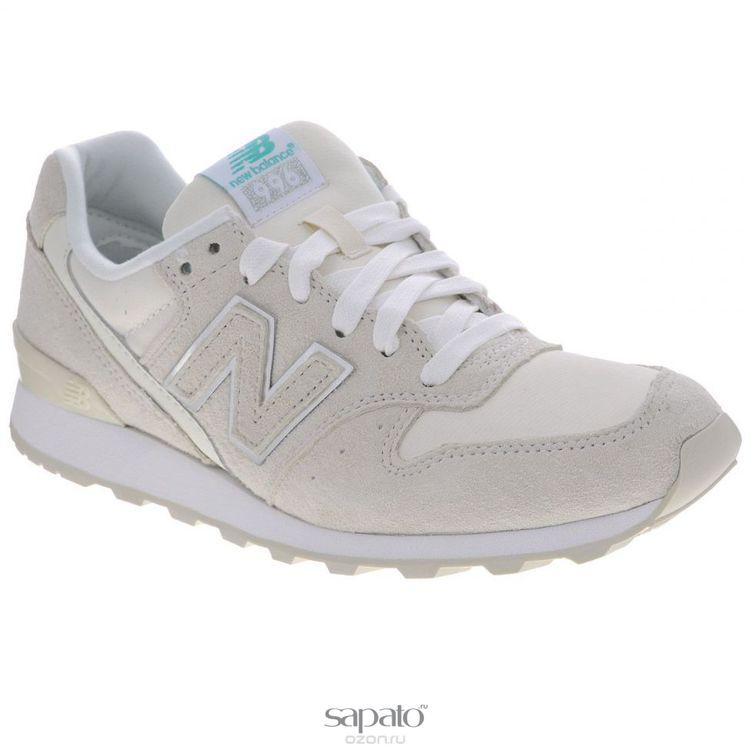 Кроссовки New Balance Кроссовки женские. WR996E бежевые