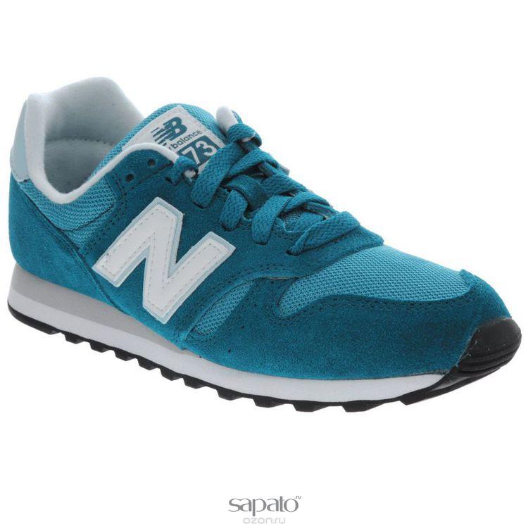Кроссовки New Balance Кроссовки женские. WL373SM голубые