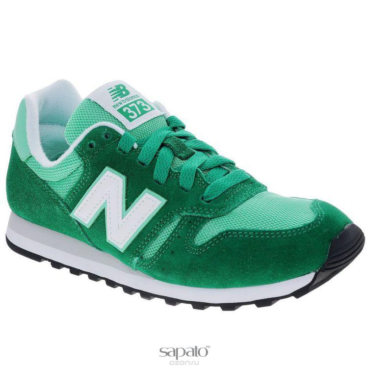Кроссовки New Balance Кроссовки женские. WL373SM зеленые