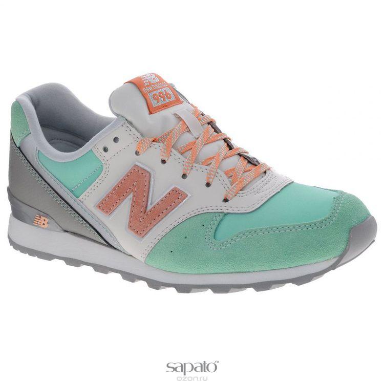 Кроссовки New Balance Кроссовки женские. WR996EM/D розовые