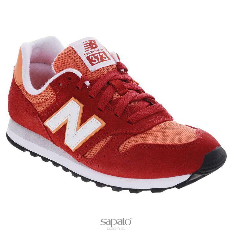 Кроссовки New Balance Кроссовки женские. WL373SM оранжевые