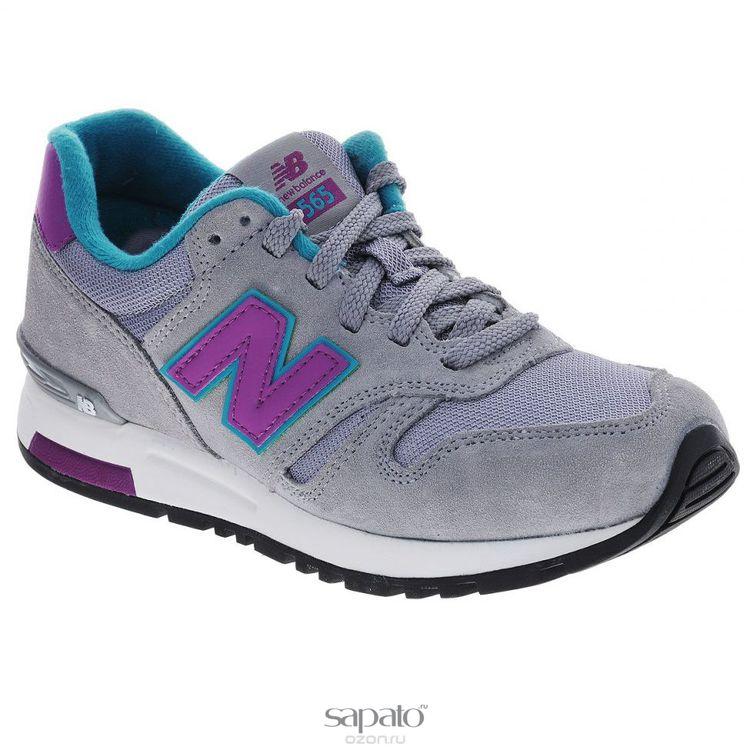 Кроссовки New Balance Кроссовки женские. WL565SMP/B фиолетовые