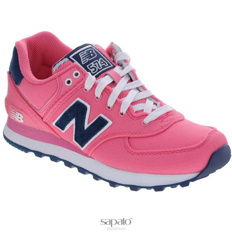 Кроссовки New Balance Кроссовки женские. WL574PO розовые