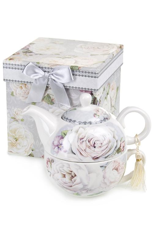 """Чайные наборы Красный куб Набор чайный """"Английские розы"""""""